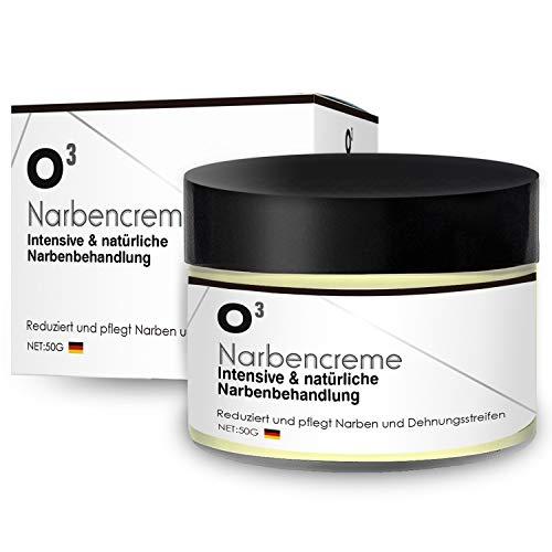 O³ Narbencreme // Narbensalbe gegen Narben und Dehnungsstreifen // Stretch mark cream – scar...