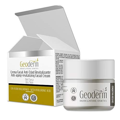 Feuchtigkeitscreme für Frauengesichter | Bio-Creme mit reiner Hyaluronsäure und Vitamin C | Aloe...