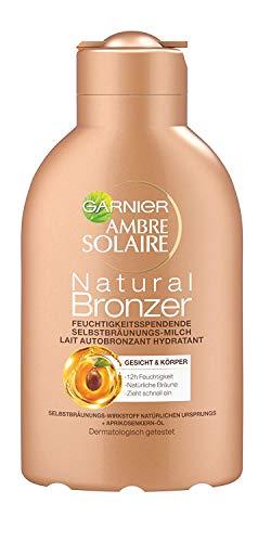 Garnier Ambre Solaire Natural Bronzer Feuchtigkeitsspendende Selbstbräunungs-Milch, für eine...