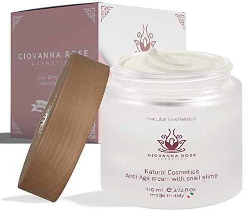 Anti-Falten-Gesichtscreme Feuchtigkeitspflege aus Schneckenschleim-Extrakt und 8 funktionelle...