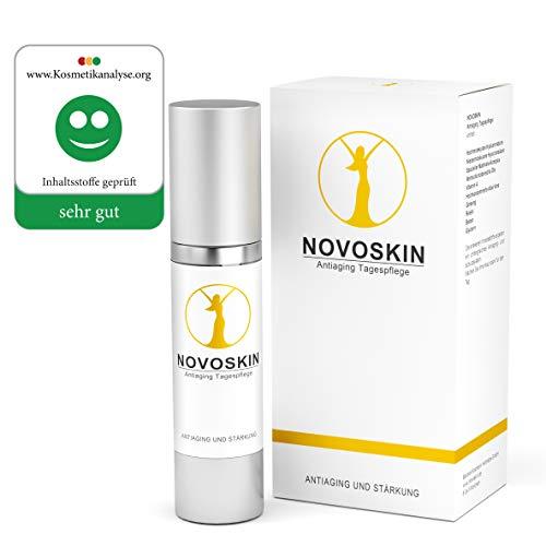 Tagescreme von NOVOSKIN - NOVOSKIN Antiaging Tagespflege - Antifaltencreme mit Hyaluron, Vitamin A,...