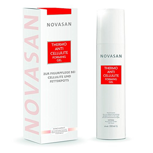 NOVASAN® THERMO ANTI-CELLULITE FORMING CREME-GEL 200ml | Lotion gegen Cellulite & Orangenhaut,...