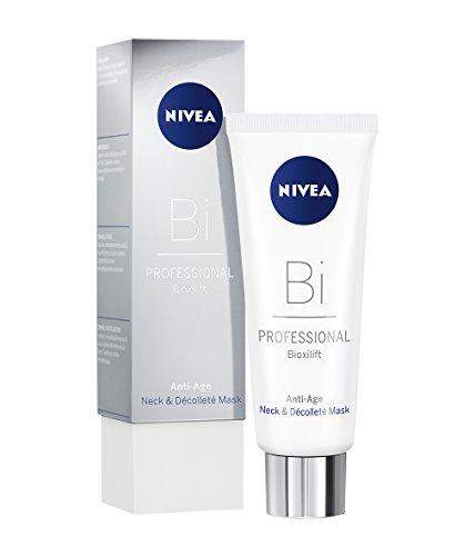 NIVEA PROFESSIONAL Bioxilift Hals und Dekolleté Maske, hautstraffende Anti Aging Pflegemaske gegen...