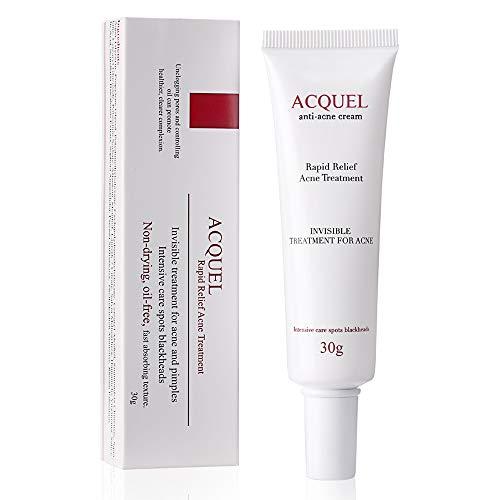 Anti Akne Creme Cream Gegen Pickel Unreine Haut Erwachsene Akne-Behandlung Gel Pickel Entfernen...