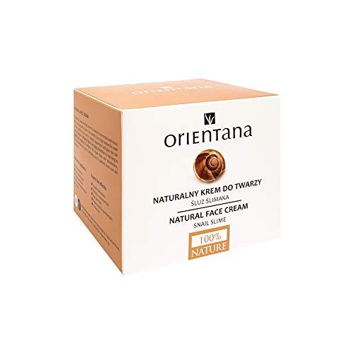 Orientana - 98% Natürliche Gesichtscreme mit Schneckenschleim für Damen - Tag & Nacht Vegan Bio...
