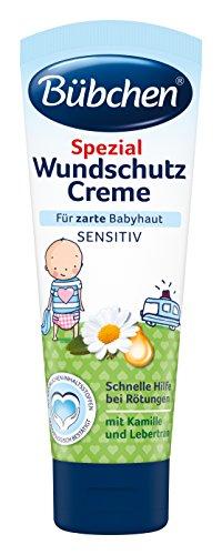 Bübchen Spezial Wundschutz Creme, sensitive Wundheilsalbe, Wund- und Heilsalbe für zarte Babyhaut,...