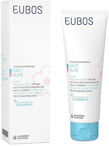 Eubos Haut Ruhe Lotion (1x125ml) für die tägliche Ganzkörperpflege bei trockener Kinder- und...