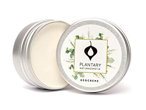 Plantary Deo Creme ohne Aluminium vegan bio 30ml, Unisex-Duft für Damen und Herren, Deocreme für...