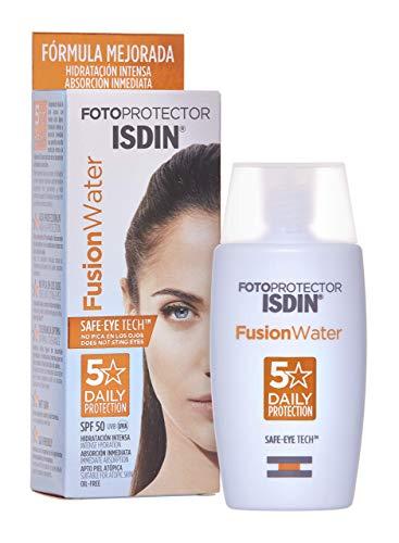ISDIN Fusion Water LSF 50 | Sonnencreme für das Gesicht zur täglichen Anwendung| Ultraleichte...