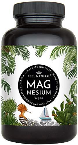 Magnesium Kapseln - 365 Stück (1 Jahr). 664mg je Kapsel, davon 400mg ELEMENTARES (reines) Magnesium...