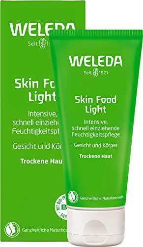 WELEDA Skin Food Light Feuchtigkeitscreme, Naturkosmetik für Gesicht & Körper, intensiv beruhigend...