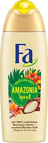 FA Duschcreme Brazilian Vibes Amazonia Spirit mit 100% natürlicher Murumuru Butter und...