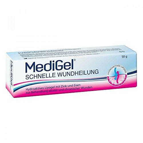 MediGel Schnelle Wundheilung – Hydroaktives Lipogel mit Zink & Eisen für alle Wunden im Alltag...
