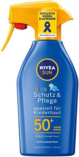NIVEA SUN Sonnenspray mit verbesserter Formel für Kinder, Lichtschutzfaktor 50+, 300 ml...