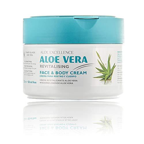 Aloe Vera Creme | Kanarische Inseln Aloe Vera | Tief hydriert Haut | 300 ml