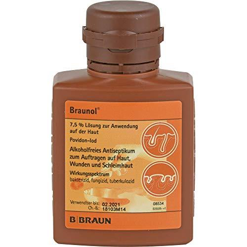 Braunol Lösung alkoholfreies Antiseptikum, 100 ml Lösung