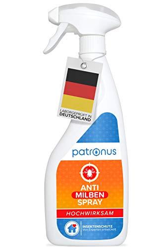 Milbenspray für Matratzen und Polster 500ml - Anti Milben-Spray als Mittel gegen Hausstaubmilben -...