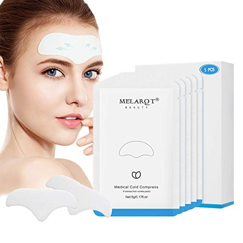 Facial Patches, Anti Aging Gesichts Anti-Falten-Patches, Anti Falten Stirn Pad, Forehead Wrinkle...