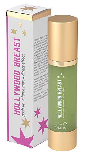 HOLLYWOOD BREAST Push Up Creme | natrliche Brustvergrerung | Busen Volumen | fr glatte, straffe Haut...
