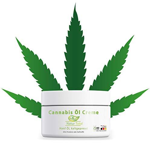 Pure Hanföl Creme CB ÖL: 150ml Cannabis Öl eingearbeitet in eine Basiscreme nach DAC Deutsche...