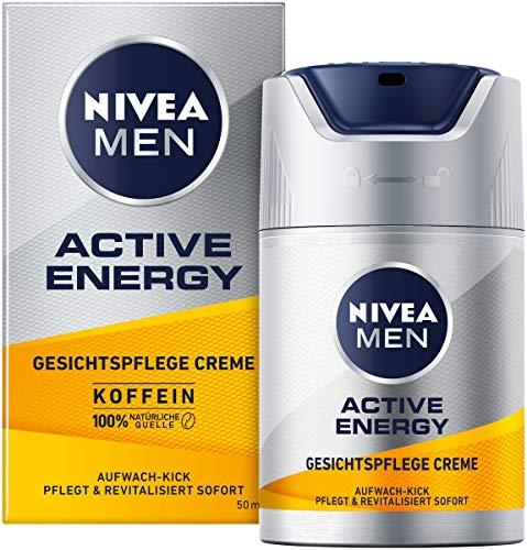 NIVEA MEN Active Energy Gesichtspflege Creme (50 ml), revitalisierende Gesichtscreme für Männer,...