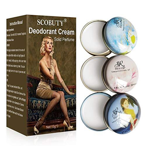 Deodorant,Deo Creme,Antitranspirant Starkes,Deodorant Creme,Unisex-duft Für Damen Und...