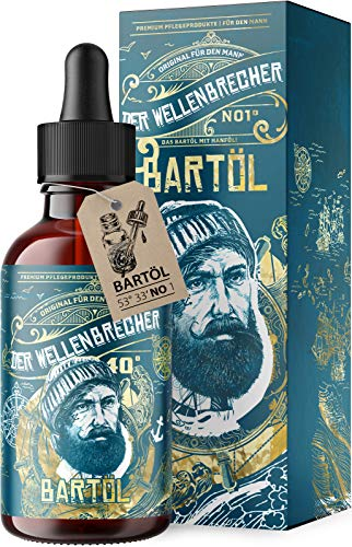 *NEU* Der Wellenbrecher Bartöl I Das natürliche Bart Öl für echte Männer I Bartpflege Made in...