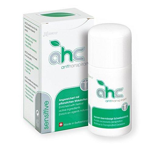 JV Cosmetics - AHC sensitive Antitranspirant - gegen Schwitzen an empfindlichen Hautregionen (50 ml)