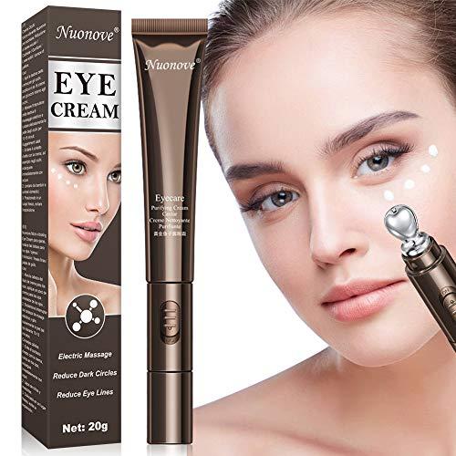 Augencreme, Eye Cream, Augen Creme Anti-Aging, Elektrische Massage Augencreme Reduzieren Sie dunkle...
