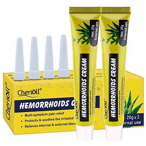Hämorrhoiden Salbe, Hämorrhoiden Creme, Effektive Linderung von Schmerzen, Juckreiz & Blutungen,...