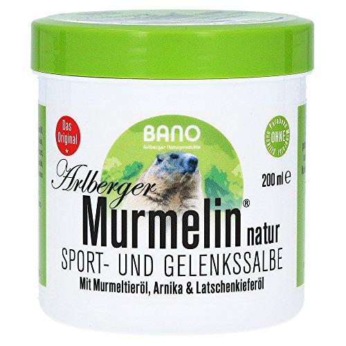 MURMELIN Arlberger Murmeltiersalbe 200 ml