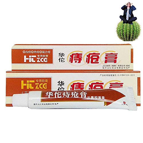 Hua Tuo Hämorrhoiden Salbe, Natürliche Pflanzliche Pflanzliche Materialien Leistungsstarke...