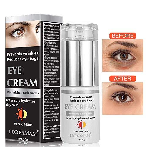 Augencreme, Eye Cream, Augenringe Creme, Augencreme Falten, Natrliche Hyaluron Anti-Aging Creme,um...