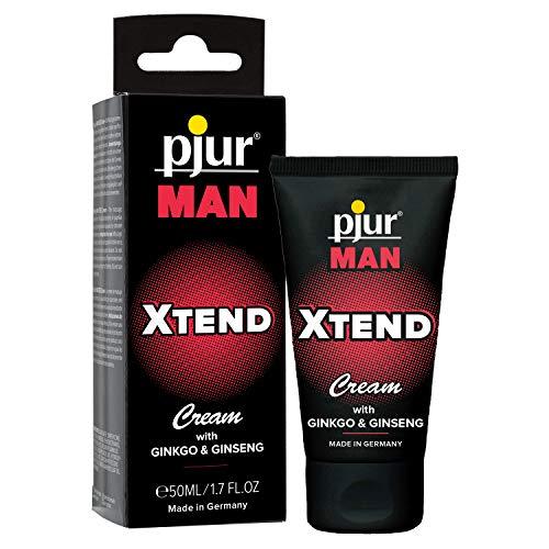 pjur MAN XTEND Cream - Erektionscreme für Männer, die mehr wollen - mit Ginkgo- und...