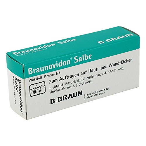 Braunovidon Salbe 10%, 20 g