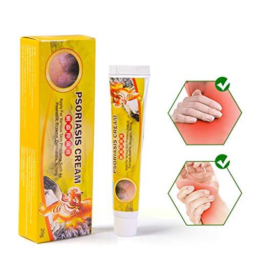 LifeBest Haut Psoriasis Creme Dermatitis Ekzematoid Ekzem Salbe Gesunde Hautbehandlung, natürliche...