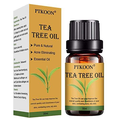 Teebaum öl,Akne Öl,Acne Serum,Anti-Akne-Behandlung,Ideal Gegen Unreine Haut,Anti Pickel,Gegen...