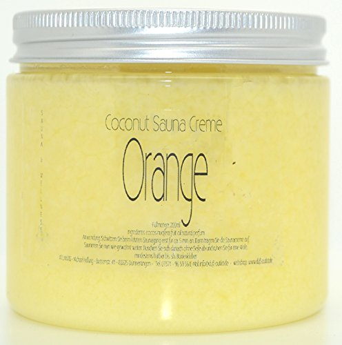 ORANGE 200ml Coconut Sauna Creme-Saunacreme-Pflegecreme-Pflege Creme-Saunapflege-Kokosl-Kokos l-...