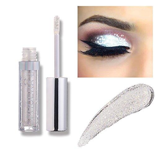 Liquid Eyeshadow Makeup Langlebige Shiny Glitter Wasserdicht Schimmer und Glanz...