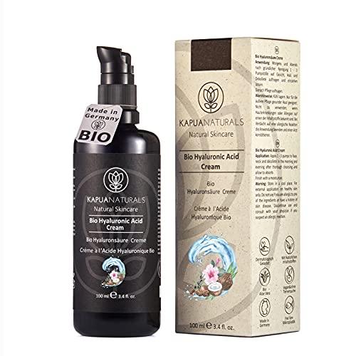 BIO Hyaluron Creme - 100 ml 9-FACH Anti Aging Creme m. Hyaluronsäure | Hyaluron Gesichtscreme |...