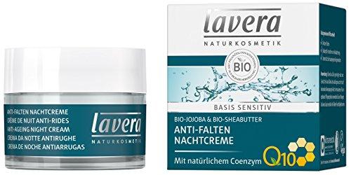 lavera Anti Falten Nachtcreme Q10 ∙ Feuchtigkeit & Pflege ∙ Anti Aging Nachtpflege ∙ Creme...