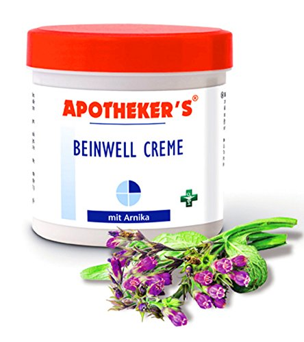 BEINWELL Creme 250ml mit Arnika APOTHEKER'S Massage Lotion Balsam Salbe 42