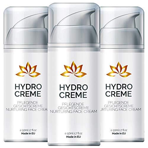Hydro Creme - Anti Aging Creme für Frauen und Männer   Feuchtigkeitscreme - Tagescreme -...