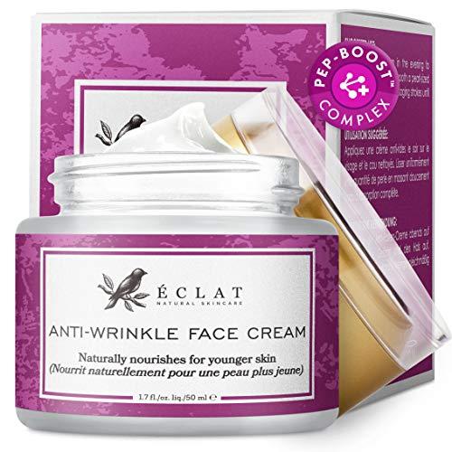 Anti-Falten Gesichtscreme - Extrem wirksame Anti-Falten Gesichtspflege mit Hyaluronsäure und...