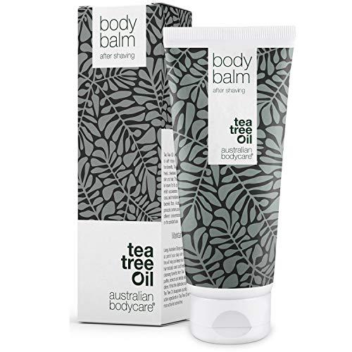 Australian Bodycare Body Balm 200ml | Aftershave Balsam gegen Eingewachsene Haare, Rasurbrand & rote...