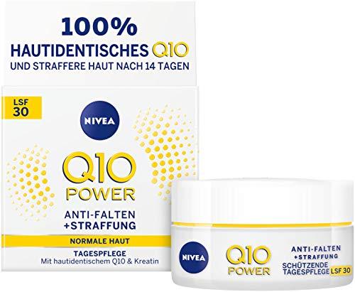 NIVEA Q10 Power Anti-Falten plus Straffung Schützende Tagespflege im 1er Pack (1 x 50ml),...