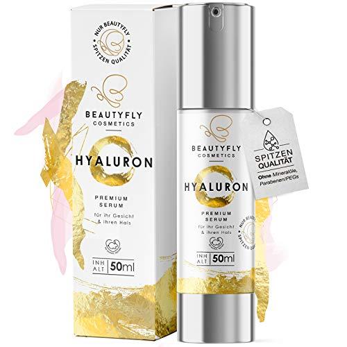 BeautyFly *NEU* Original BeautyFly Hyaluron Serum I 50ml Natürliche Hyaluronsäure Anti-Aging Creme...