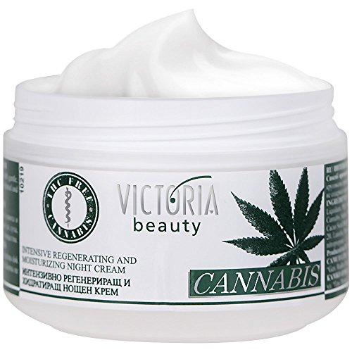 Victoria Beauty - Hanfcreme, Anti Aging Augencreme gegen Falten und dunkle Augenringe, Cannabis...