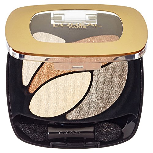 L'Oréal Paris Color Riche Quads Eyeshadow, E1 Beige Trench - Lidschatten Palette für ein...