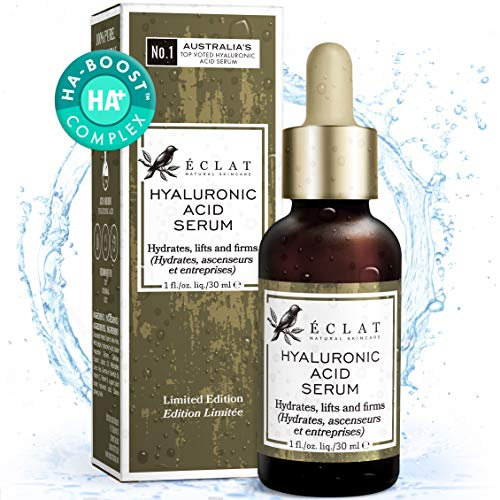 Hyaluronsäure Serum - 100% reine Hyaluronsäure - Schnell einziehende feuchtigkeitsspendende...